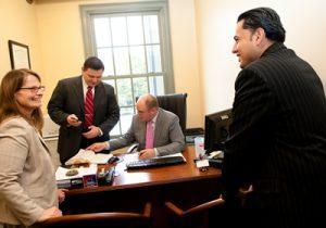 hyderally & associates office meeting