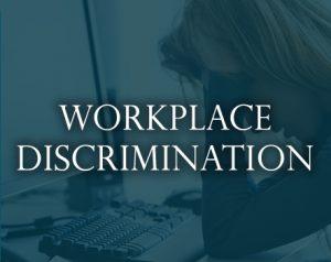 workplace discrimination sign