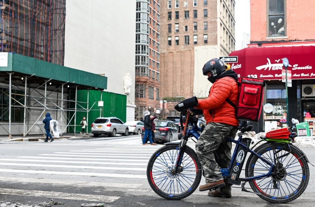 food delivery worker protections